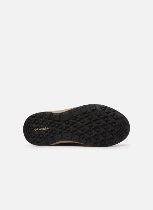 Sport shoes Columbia Nikiski Brown view from above