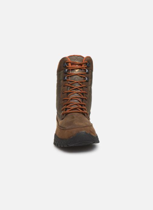 Chaussures de sport Columbia Fairbanks 1006 Marron vue portées chaussures