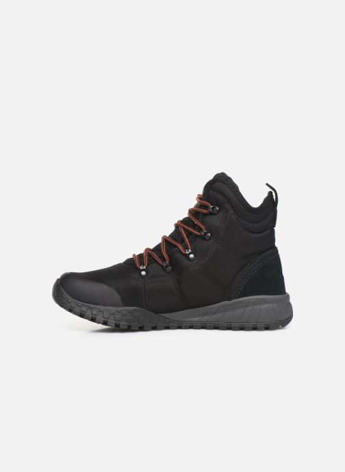 Zapatillas de deporte Columbia Fairbanks Omni Heat Negro vista de frente