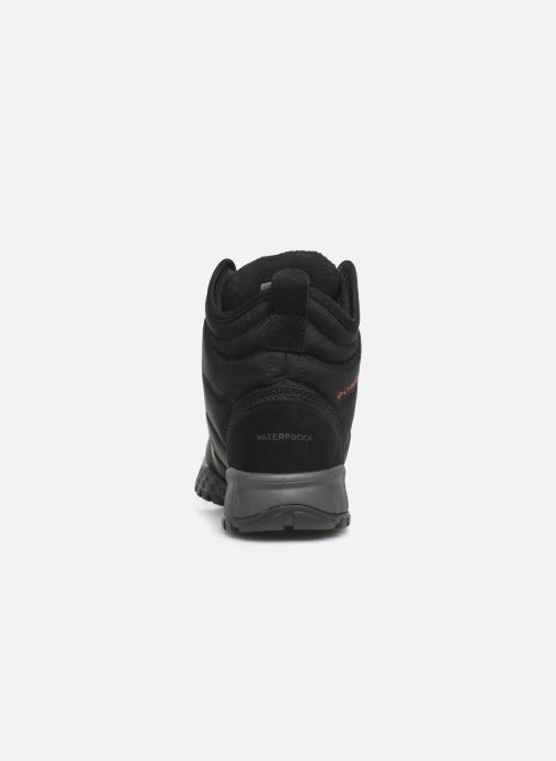 Zapatillas de deporte Columbia Fairbanks Omni Heat Negro vista lateral derecha