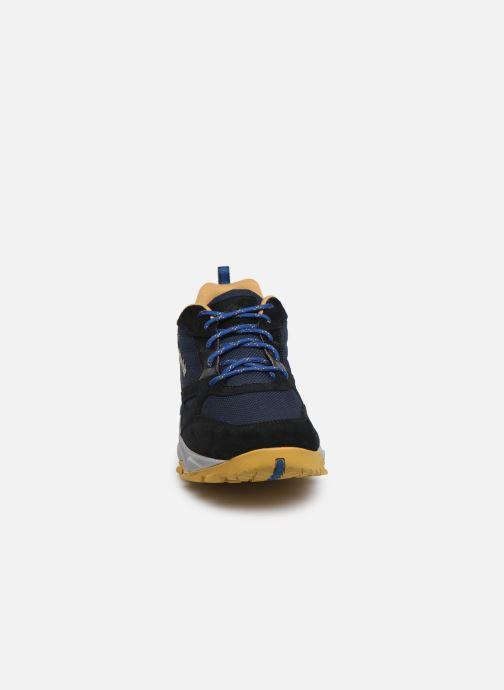 Chaussures de sport Columbia Ivo Trail Bleu vue portées chaussures