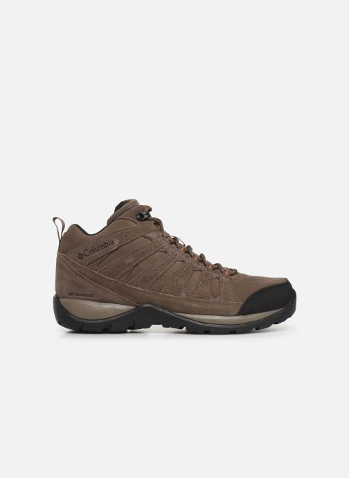 Chaussures de sport Columbia Redmond V2 Leather Mid Waterproof Beige vue derrière