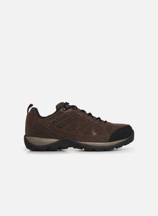 Chaussures de sport Columbia Redmond V2 Leather Waterproof Marron vue derrière