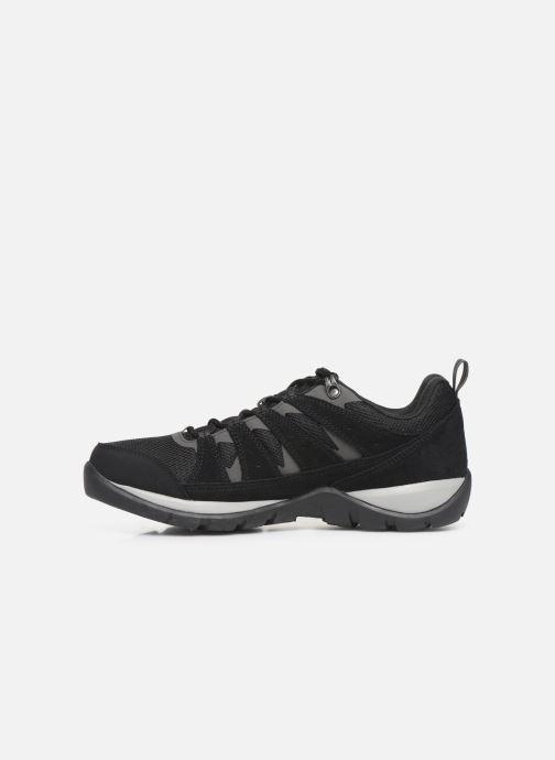 Chaussures de sport Columbia Redmond V2 Waterproof Noir vue face