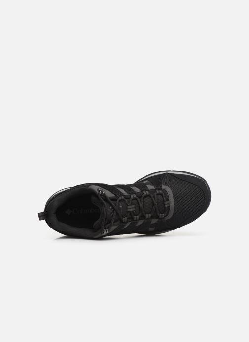 Chaussures de sport Columbia Redmond V2 Waterproof Noir vue gauche