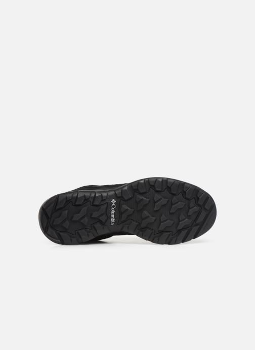 Chaussures de sport Columbia Redmond V2 Waterproof Noir vue haut
