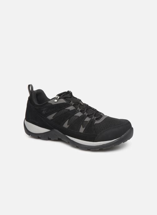 Chaussures de sport Columbia Redmond V2 Waterproof Noir vue détail/paire