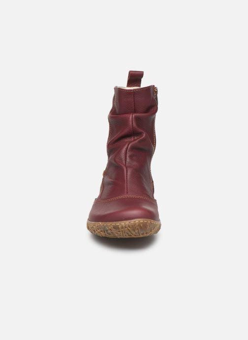 Ankle boots El Naturalista Nido Ella N722 C Burgundy model view