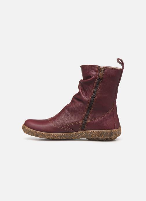Ankle boots El Naturalista Nido Ella N722 C Burgundy front view