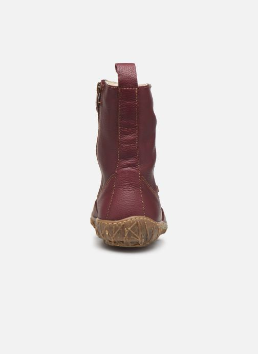 Ankle boots El Naturalista Nido Ella N722 C Burgundy view from the right