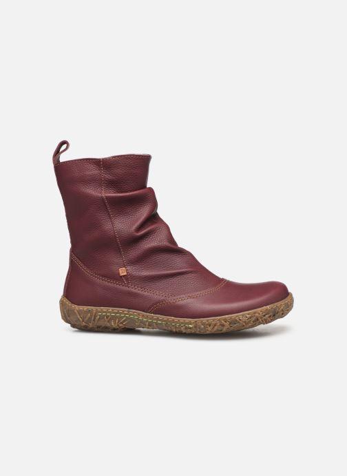 Ankle boots El Naturalista Nido Ella N722 C Burgundy back view
