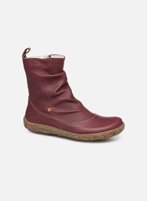 Ankle boots El Naturalista Nido Ella N722 C Burgundy detailed view/ Pair view