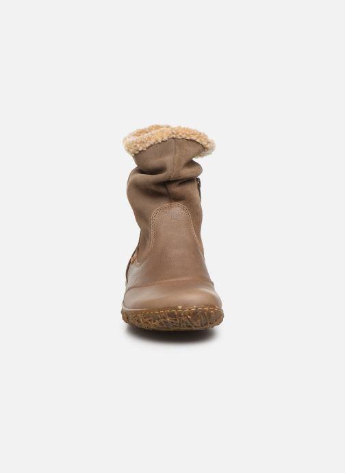 Bottines et boots El Naturalista Nido Ella N758 C Gris vue portées chaussures