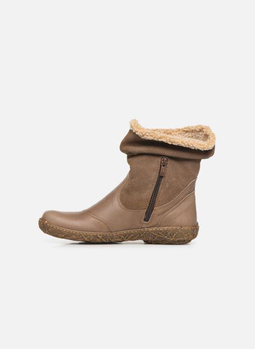 Bottines et boots El Naturalista Nido Ella N758 C Gris vue face