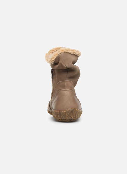 Bottines et boots El Naturalista Nido Ella N758 C Gris vue droite