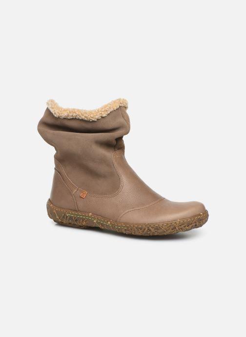 Bottines et boots El Naturalista Nido Ella N758 C Gris vue détail/paire