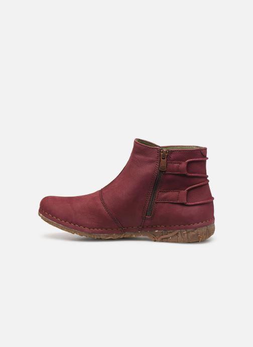 Bottines et boots El Naturalista Angkor N917 C Bordeaux vue face