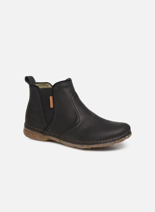 Boots en enkellaarsjes El Naturalista Angkor N959 C Zwart detail