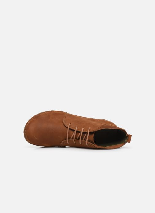 Boots en enkellaarsjes El Naturalista Angkor N974 C Bruin links