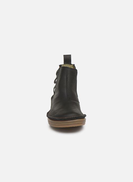Boots en enkellaarsjes El Naturalista Rice Field N5048 C Zwart model