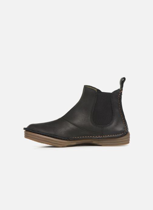 Boots en enkellaarsjes El Naturalista Rice Field N5048 C Zwart voorkant