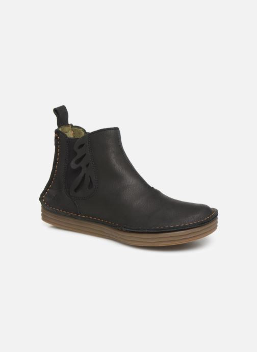 Boots en enkellaarsjes El Naturalista Rice Field N5048 C Zwart detail