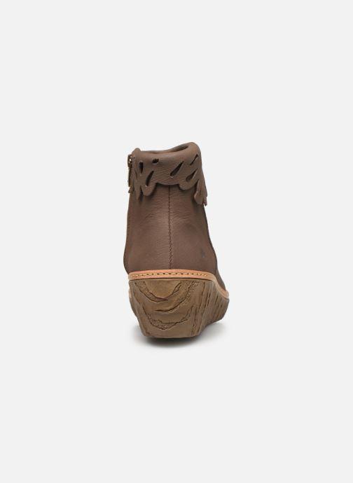 Stiefeletten & Boots El Naturalista Myth Yggdrasil N5144 C grau ansicht von rechts
