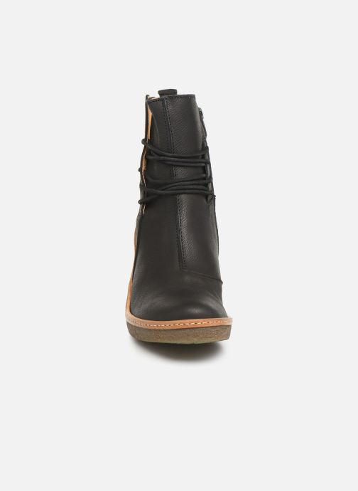 Boots en enkellaarsjes El Naturalista Haya N5175 C Zwart model