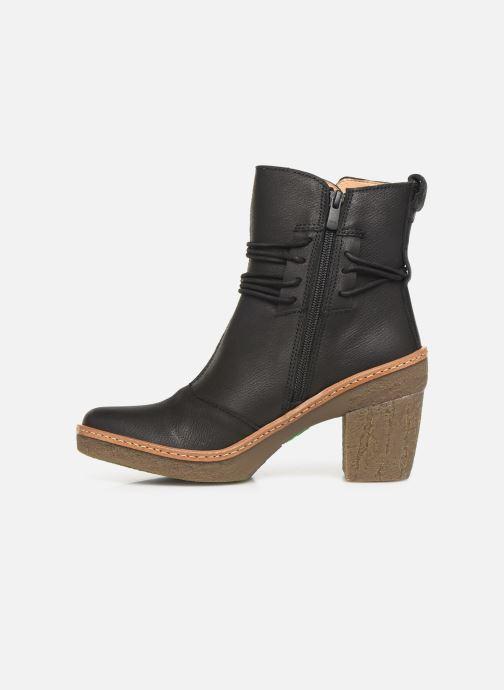 Boots en enkellaarsjes El Naturalista Haya N5175 C Zwart voorkant
