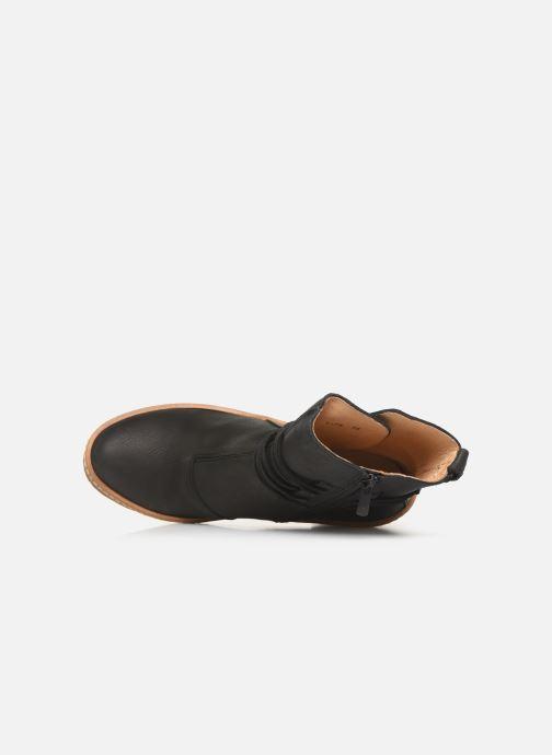 Boots en enkellaarsjes El Naturalista Haya N5175 C Zwart links
