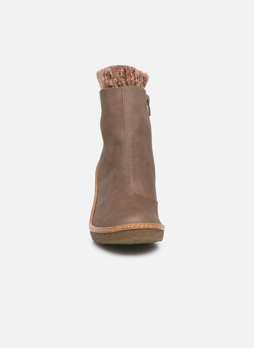 Bottines et boots El Naturalista Haya N5177 C Gris vue portées chaussures