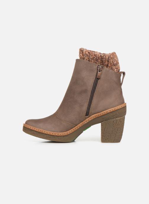 Stiefeletten & Boots El Naturalista Haya N5177 C grau ansicht von vorne