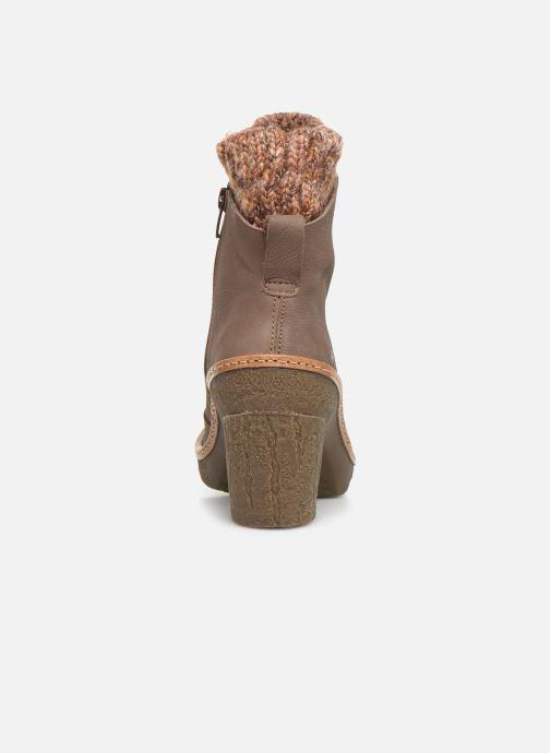 Bottines et boots El Naturalista Haya N5177 C Gris vue droite