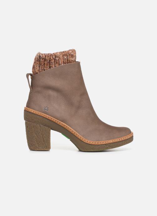 Stiefeletten & Boots El Naturalista Haya N5177 C grau ansicht von hinten
