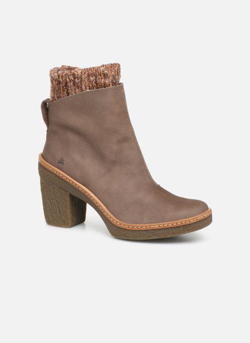 Bottines et boots El Naturalista Haya N5177 C Gris vue détail/paire