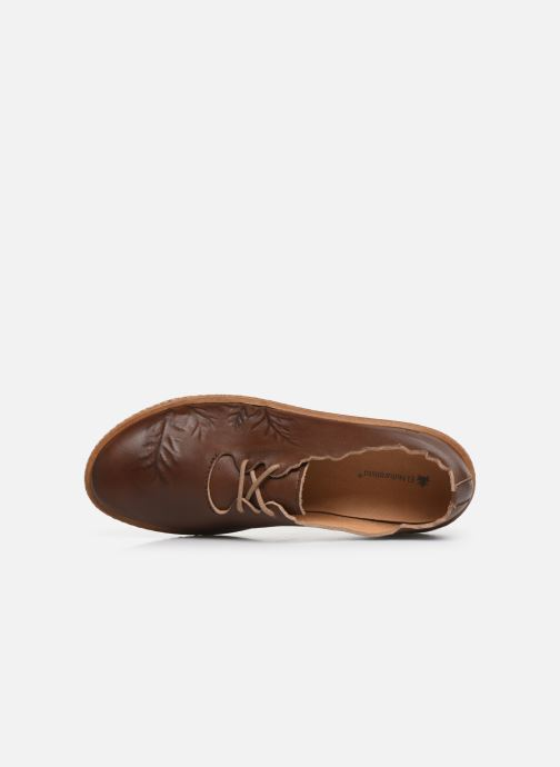 Lace-up shoes El Naturalista Coral N5312 C Brown view from the left