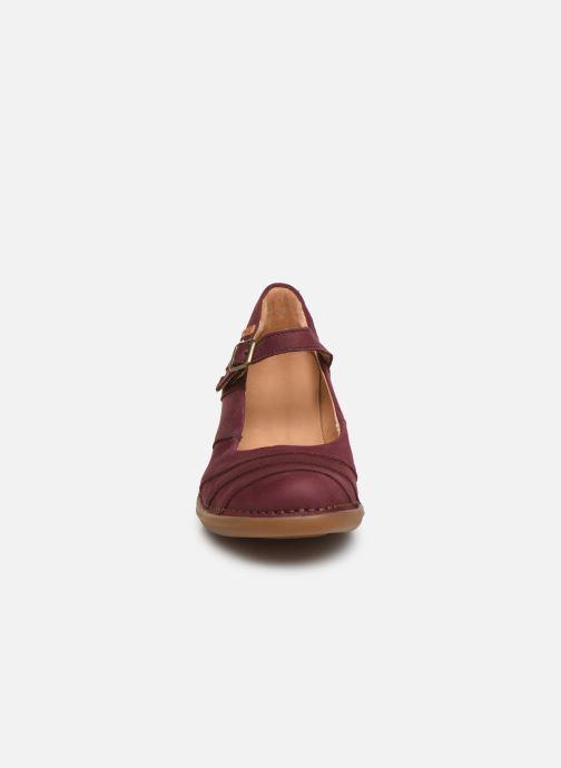Escarpins El Naturalista Aqua N5327 C Bordeaux vue portées chaussures