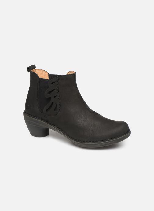 Boots en enkellaarsjes El Naturalista Aqua N5334 C Zwart detail