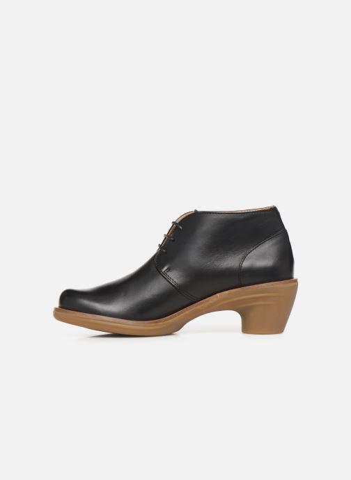 Ankle boots El Naturalista Aqua N5357 C Black front view