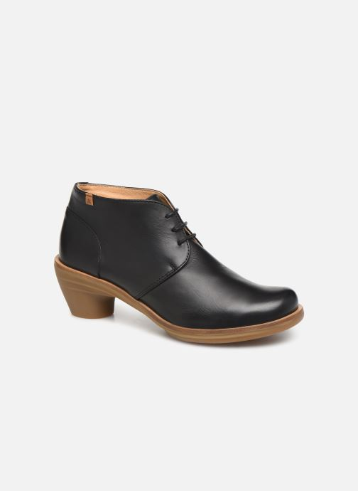 Ankle boots El Naturalista Aqua N5357 C Black detailed view/ Pair view