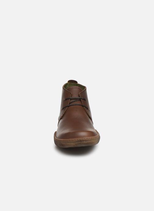 Ankle boots El Naturalista Turtle N5085T C Brown model view