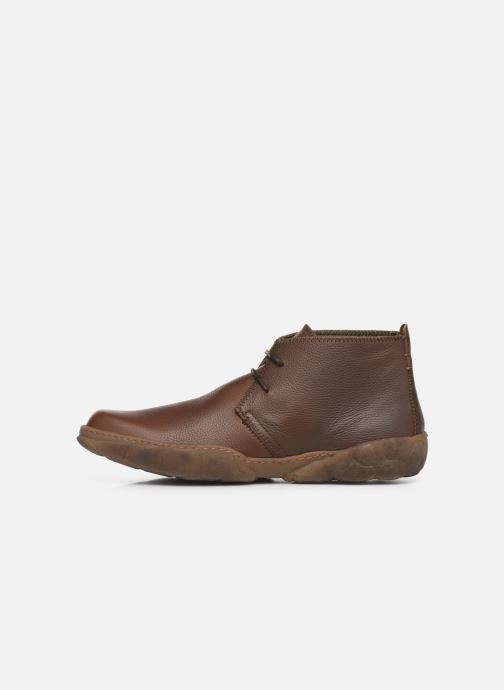 Ankle boots El Naturalista Turtle N5085T C Brown front view