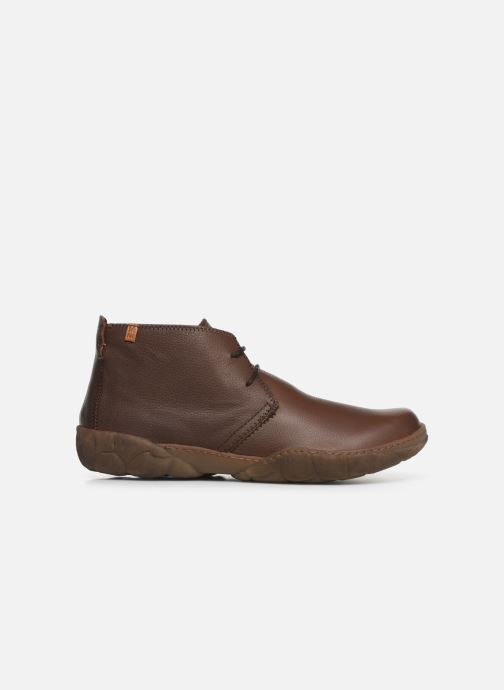 Ankle boots El Naturalista Turtle N5085T C Brown back view