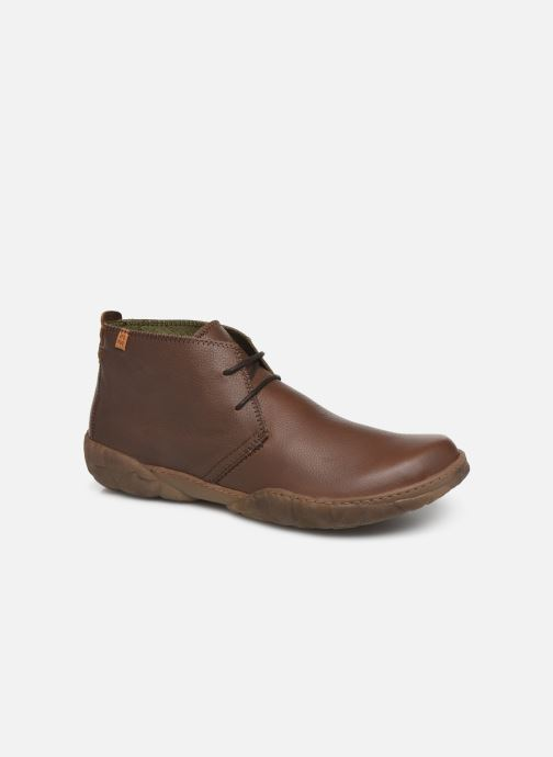 Ankle boots El Naturalista Turtle N5085T C Brown detailed view/ Pair view