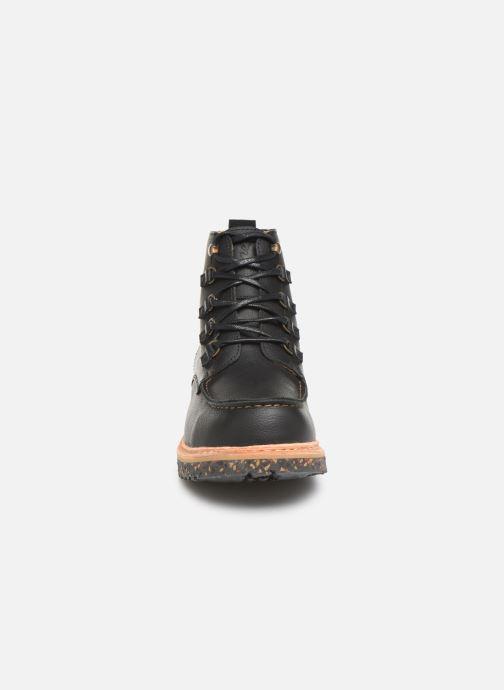 Ankle boots El Naturalista Pizarra N5550 C Black model view