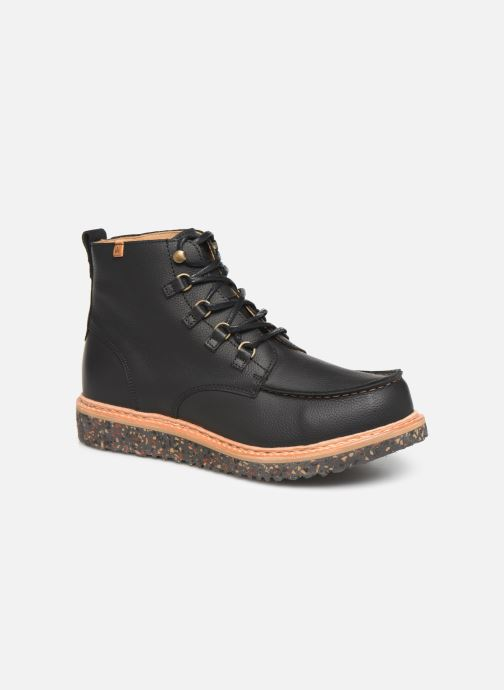 Ankle boots El Naturalista Pizarra N5550 C Black detailed view/ Pair view