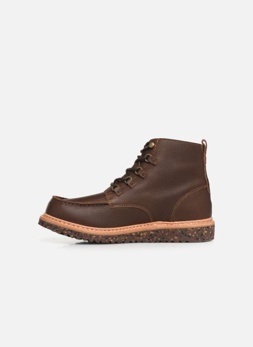 Ankle boots El Naturalista Pizarra N5550 C Brown front view