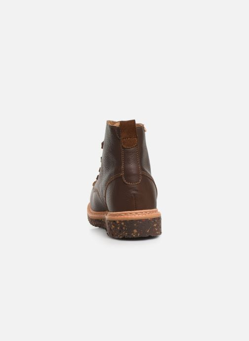 Ankle boots El Naturalista Pizarra N5550 C Brown view from the right