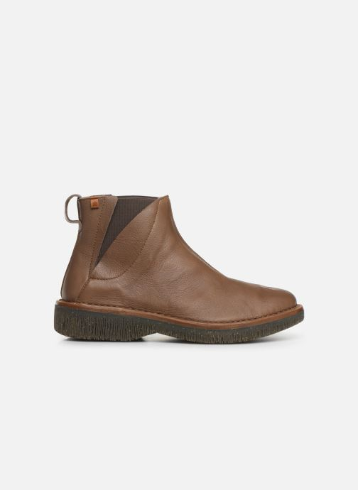 Ankle boots El Naturalista Volcano N5570 C Brown back view