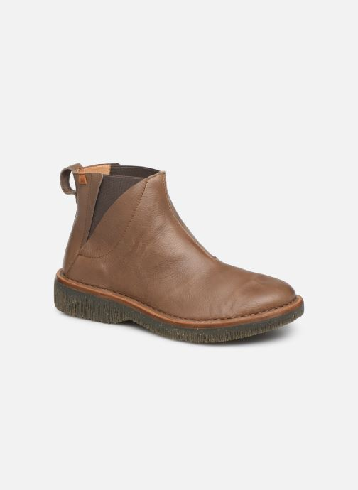 Ankle boots El Naturalista Volcano N5570 C Brown detailed view/ Pair view